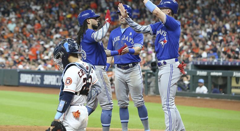 Blue Jays Plan Long Ball In Win Over Astros
