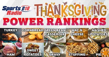 SportsRadio 610 Thanksgiving Power Rankings