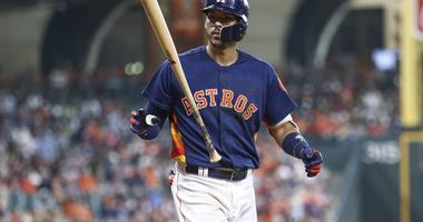 Carlos Correa unhappy with his at bat