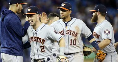 Astros 100th Win in Toronto