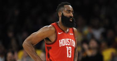 Harden Named Player Of The Month