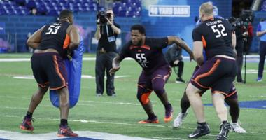 Jawaan Taylor at the combine