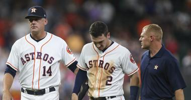 Bregman Exits With Strained Hamstring