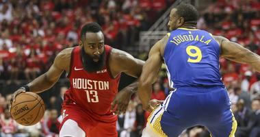 Harden Leads Rockets To Game Three Win