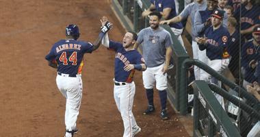 Alvarez Homers In Astros Win Over Orioles