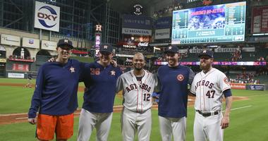 Astros Beat Mariners With Combined No-Hitter
