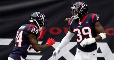 Texans Injury Report: Defensive Backs Limited In Practice