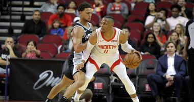 Spurs Beat Rockets In Westbrook's Home Debut