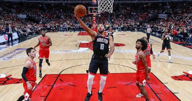 Rockets Guard Eric Gordon To Miss About Six Weeks For Knee Surgery