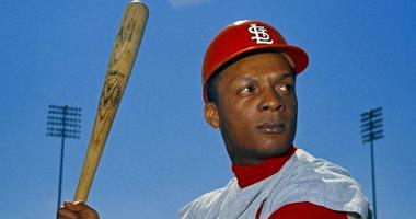 his 1968 file photo shows St. Louis Cardinals outfielder Curt Flood. Flood set off the free-agent revolution 50 years ago Tuesday, Dec. 24, 2019, with a 128-word letter to baseball Commissioner Bowie Kuhn, two paragraphs that pretty much ended the career