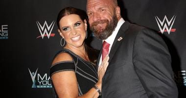 Stephanie McMahon  and Tripple H