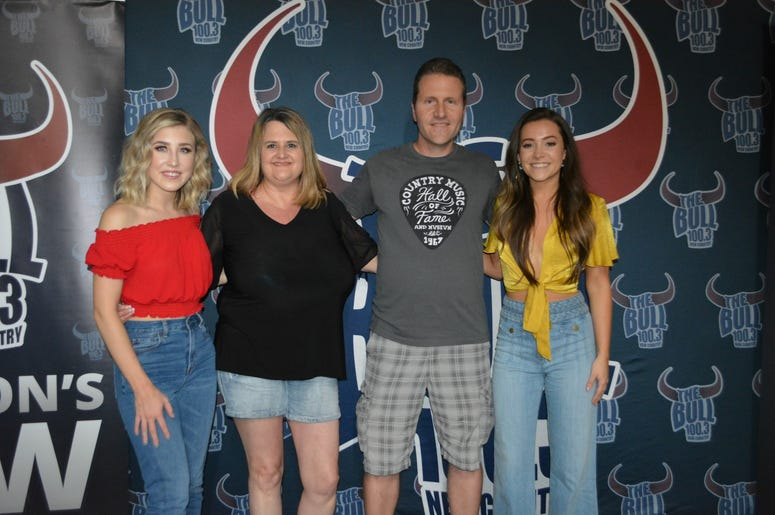 Private Bull Ride with Maddie And Tae