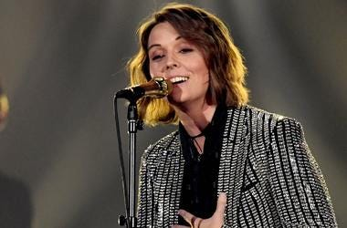 Brandi Carlile at the ACM Awards