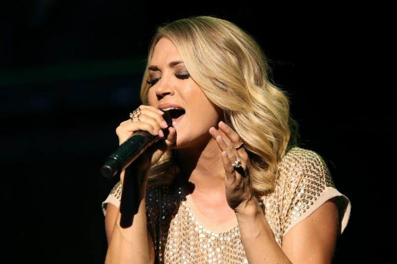 Carrie Underwood performs in 2017