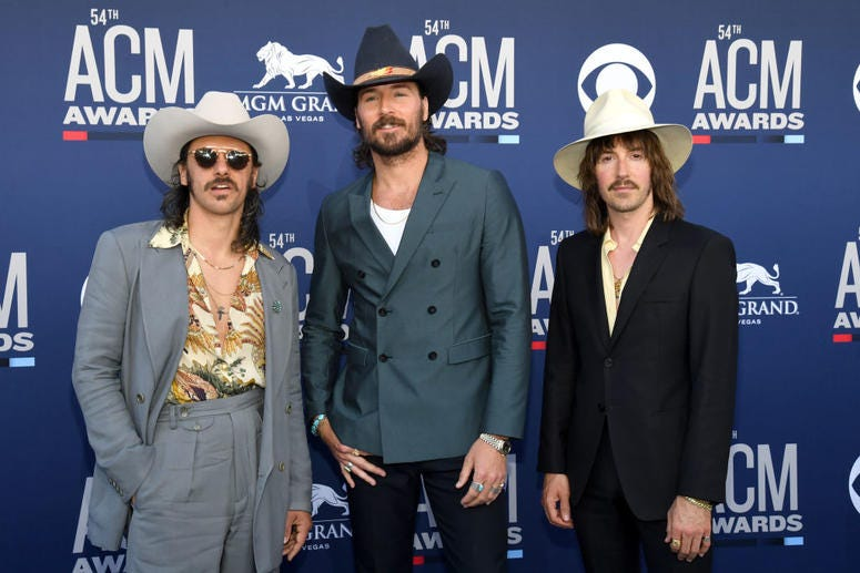 Midland attends the 54th Academy Of Country Music Awards at MGM Grand Hotel & Casino on April 07, 2019 in Las Vegas, Nevada