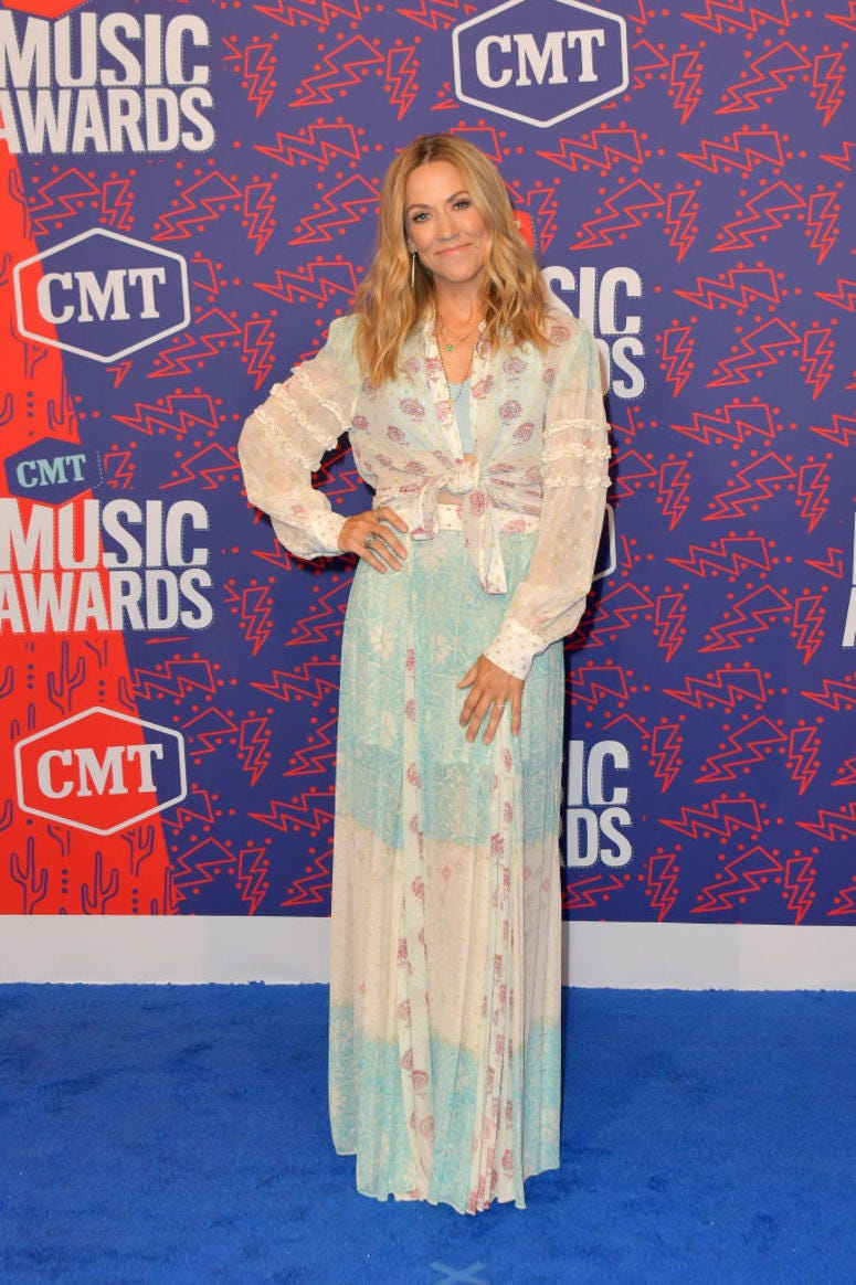 Sheryl Crow attends the 2019 CMT Music Awards at Bridgestone Arena on June 05, 2019 in Nashville, Tennessee