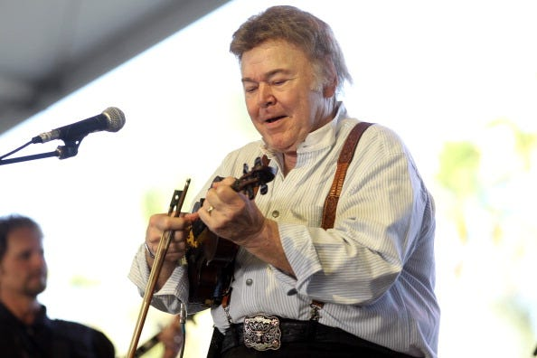 Roy Clark performs onstage during the Stagecoach Country Music Festival held at the Empire Polo Field on April 29, 2012 in Indio, California.