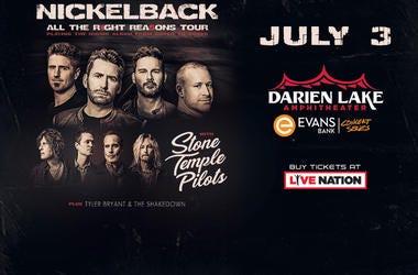 Nickelback tour art