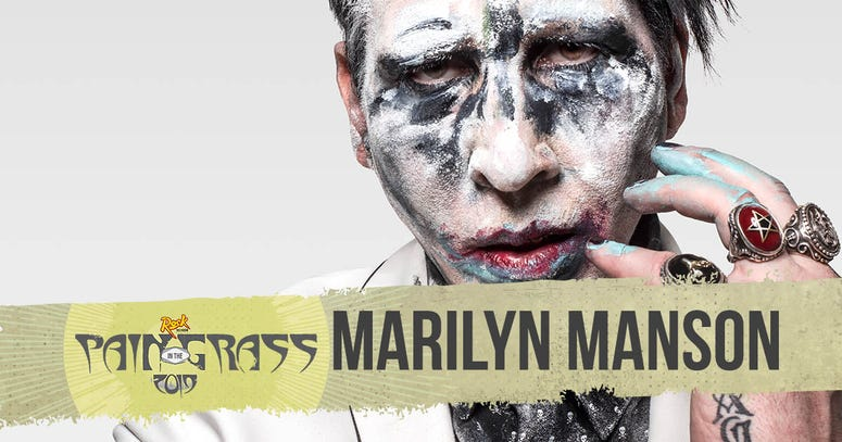 Marilyn Manson plays Pain in the Grass 2019