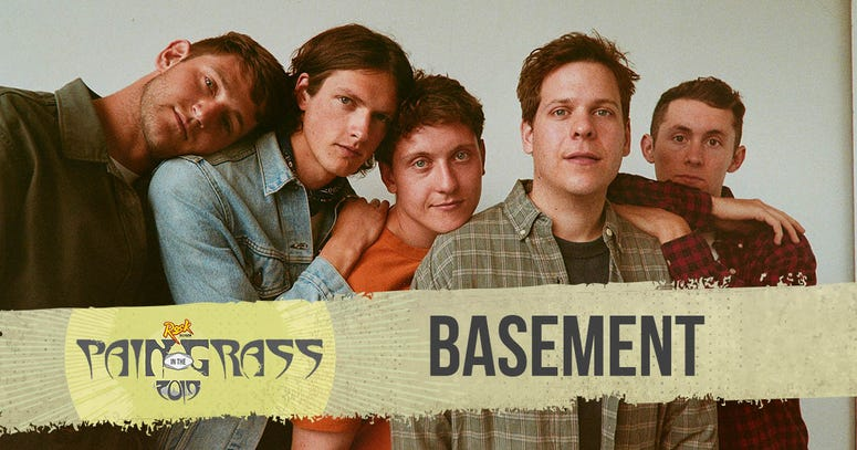 Basement plays Pain in the Grass 2019