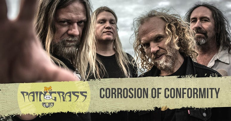 Corrosion of Conformity plays Pain in the Grass 2019