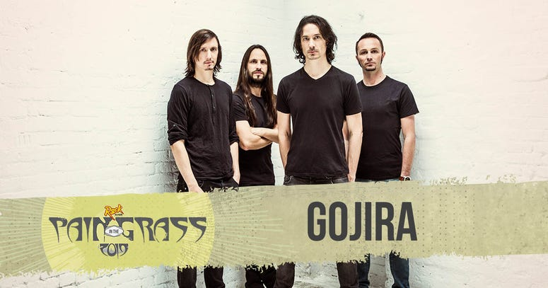 Gojira plays Pain in the Grass 2019
