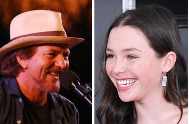Eddie Vedder and Lily Cornell Silver