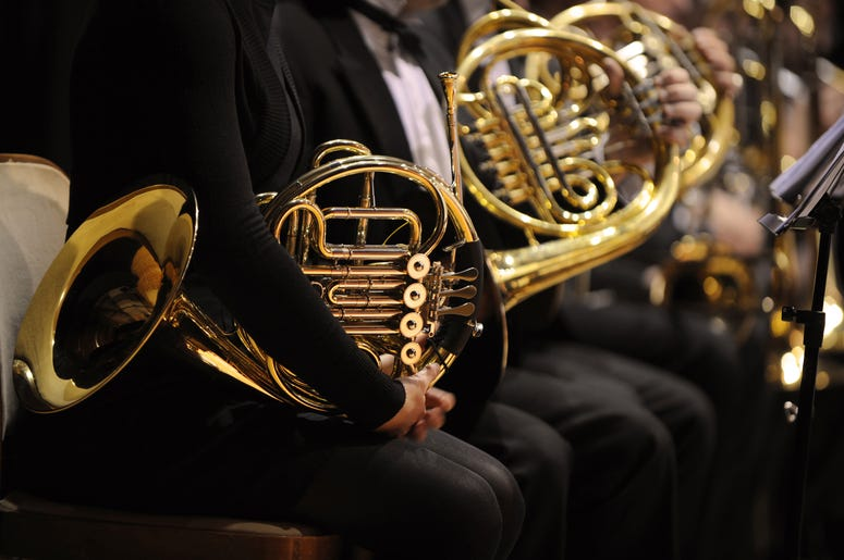 french horns of the Seattle Symphony