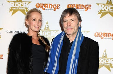 Iron Maiden's Bruce Dickinson and wife Paddy Bowden