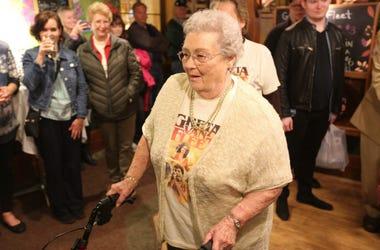Gretna Van Fleet, a resident of Frankenmuth, Mich., attends an album-release party for rock band Greta Van Fleet'