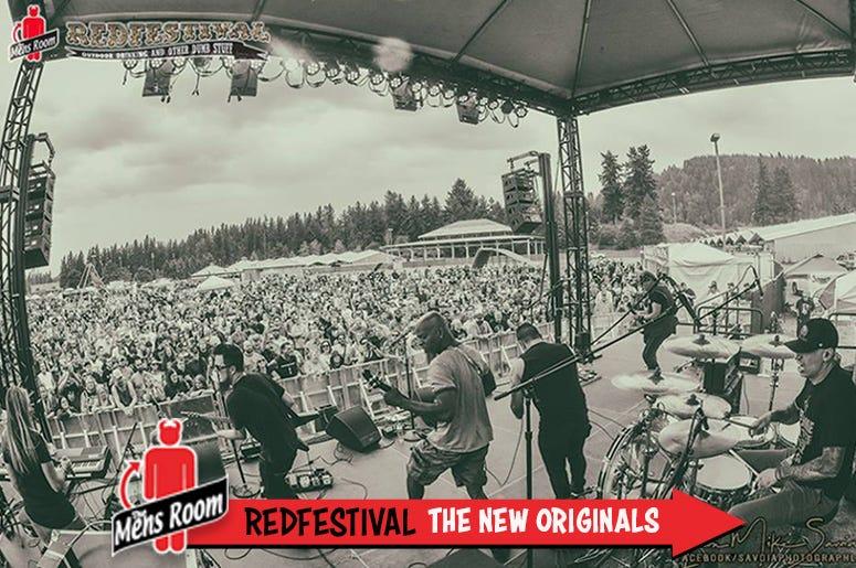 Mens Room Redfestival; The New Originals