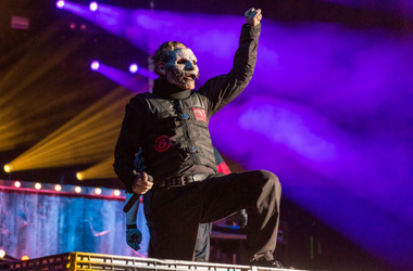 Corey Taylor of Slipknot at Toyota Park during Open Air Chicago