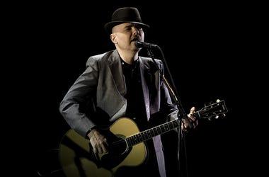 Smashing Pumpkins member Billy Corgan performs at the Broward Center