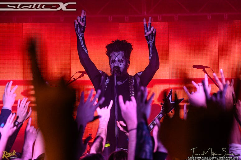 Static-X Photos Seattle 12.14.19