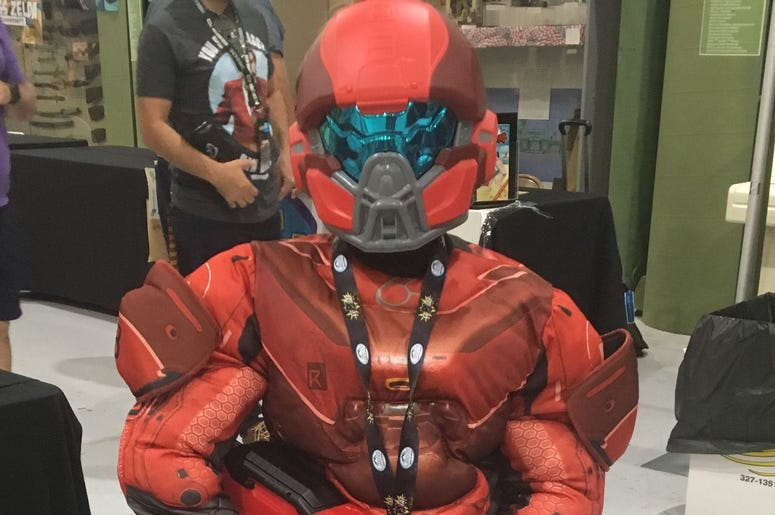 "Micah Medina of Yucca Valley as Red Team Spartan from the video game, ""Halo.\"" 636708915174806962-IMG-3889.JPG"