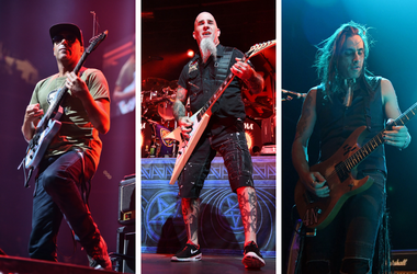 Tom Morello, Scott Ian, Nuno Bettencourt