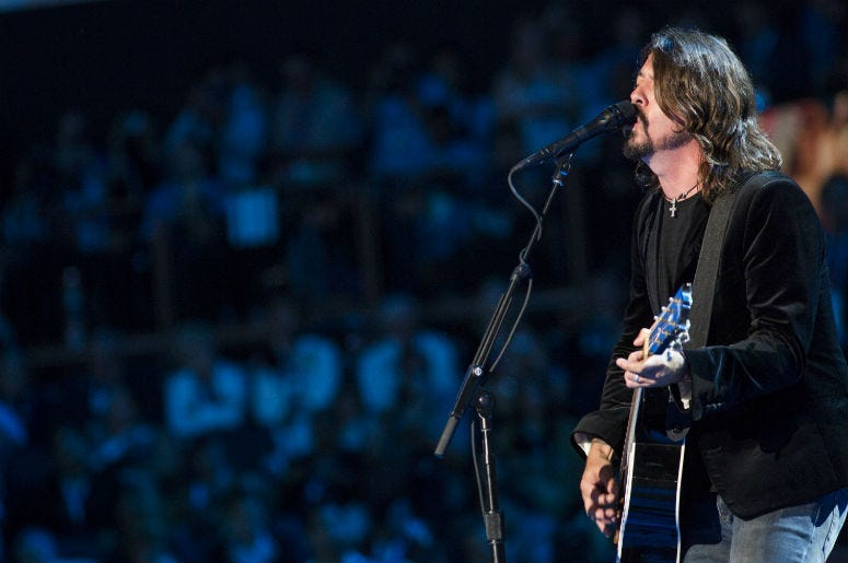 Dave Grohl of Foo Fighters