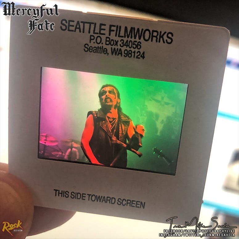 MercyFul Fate King Diamond Seattle 10.3.88