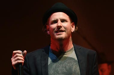 Corey Taylor performs at Celebrating David Bowie at the Wiltern Theatre