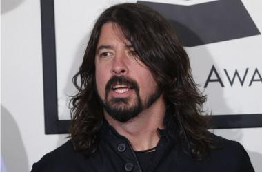 Dave Grohl arrives at the 56th Grammy Awards held at the Staples Center on January 26, 2014 in Los Angeles, CA