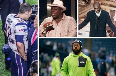 Tom Brady, Biggie, Tupac, Michael Bennett