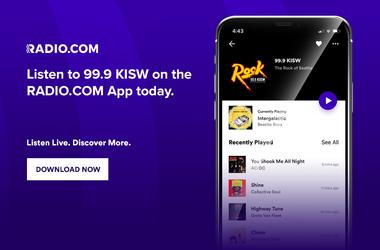 Listen to KISW with the Radio.com app