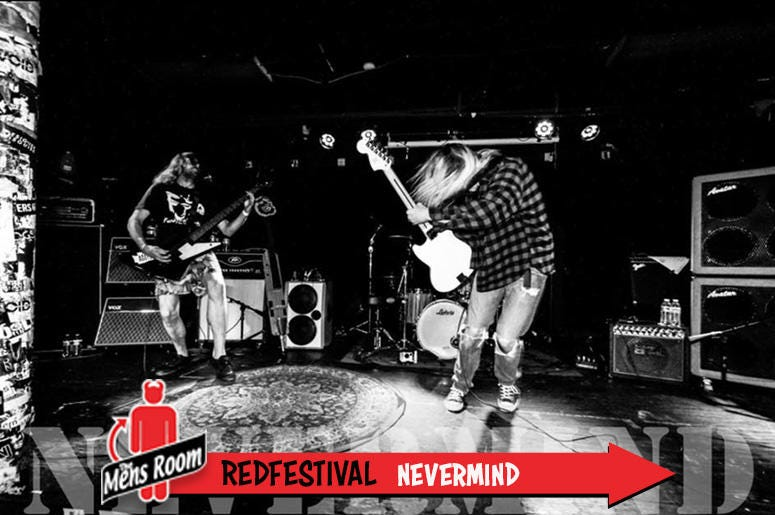 Mens Room Redfestival; Nevermind