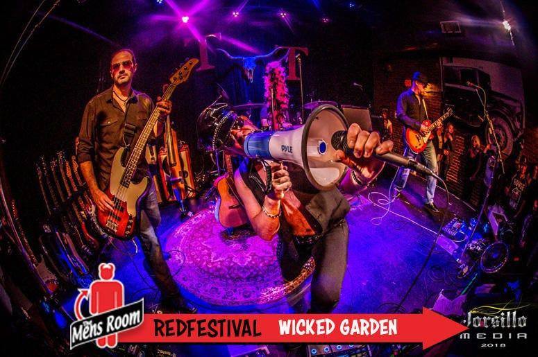 Mens Room Redfestival; Wicked Garden
