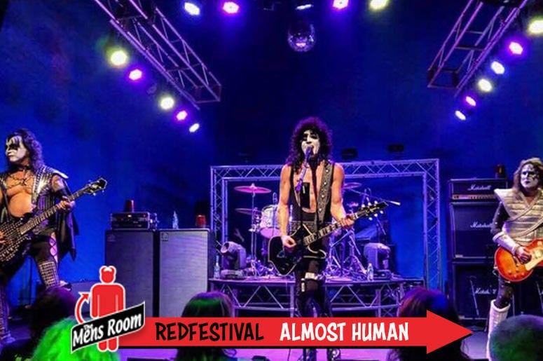 Mens Room Redfestival; Almost Human