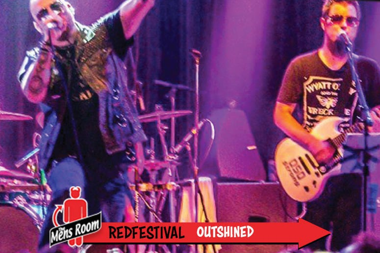 Mens Room Redfestival; Outshined