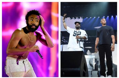 Donald Glover + Ice Cube & Dr. Dre