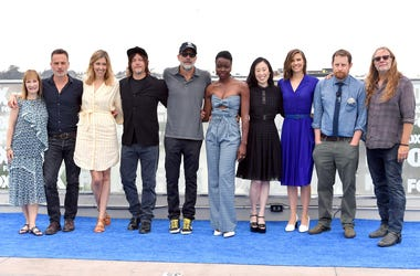 "Cast of AMC's ""The Walking Dead"" at San Diego Comic-Con 2018 (Photo credit: Dia Dipasupil/Getty Images)"
