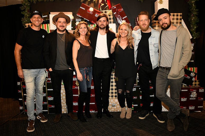 Mumford and Sons Meet-N-Greet at Not So Silent Night 2019