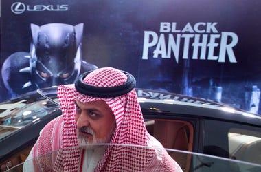 'Black Panther' in Saudi Arabia